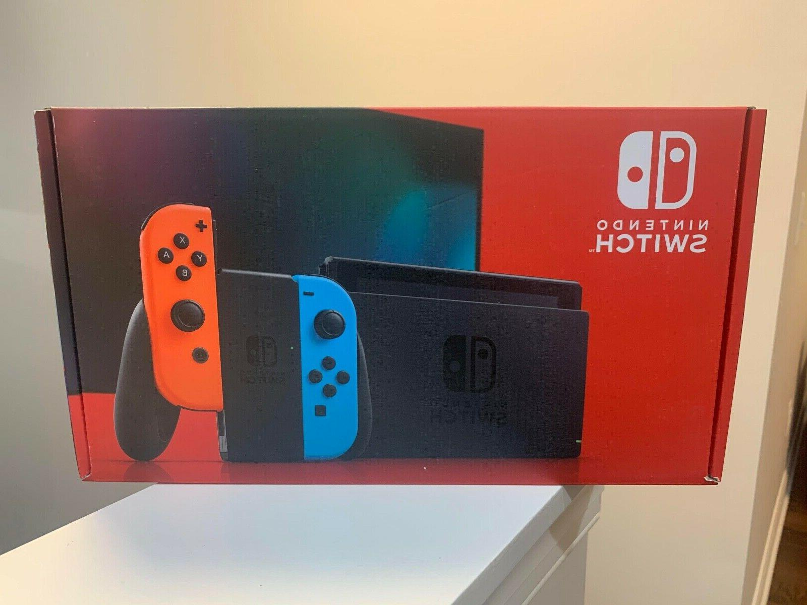 Nintendo Switch Console Neon and Joy