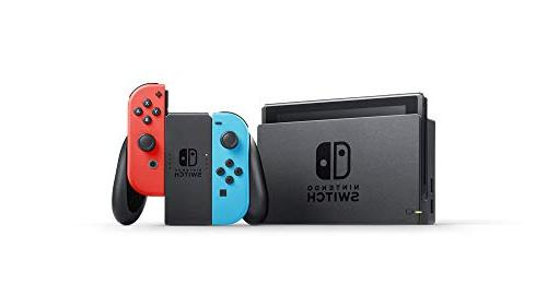 Nintendo Switch – Red and Joy-Con