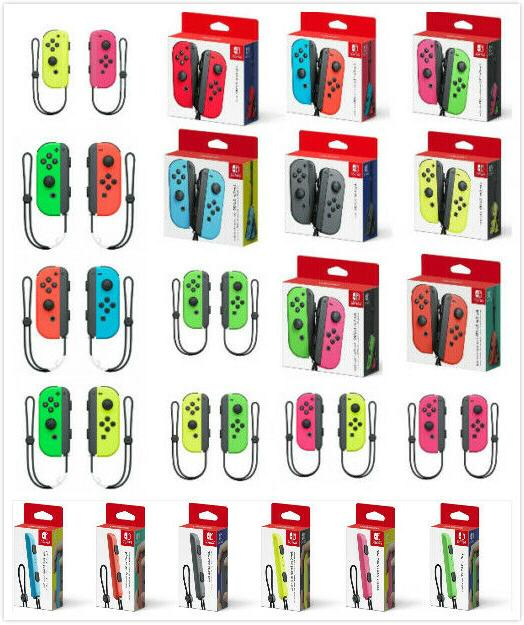 switch joy con wireless controller various colors