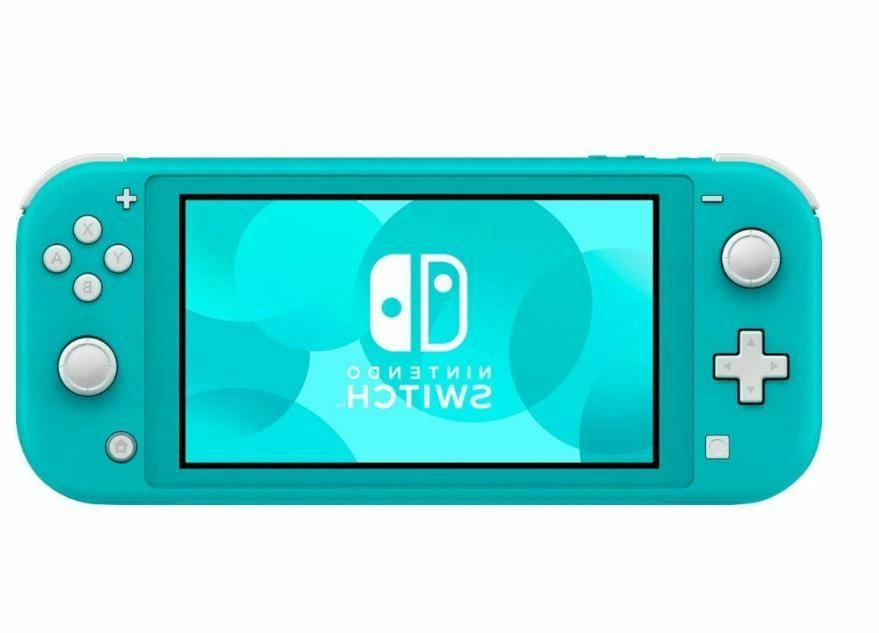 Nintendo Switch Console 32GB - Turquoise - - Stock