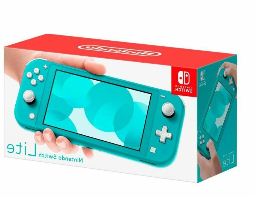 switch lite handheld console 32gb turquoise new