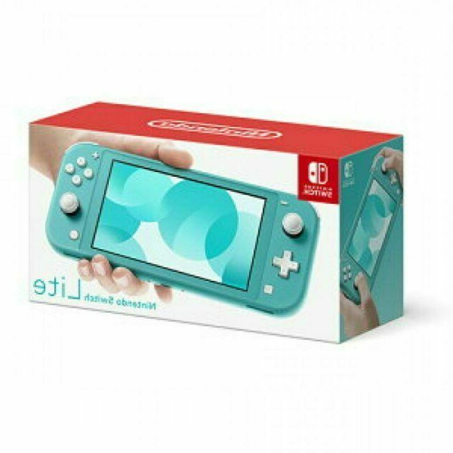 switch lite handheld console turquoise brand new