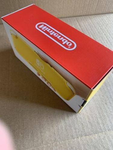 NINTENDO SWITCH LITE YELLOW !!!