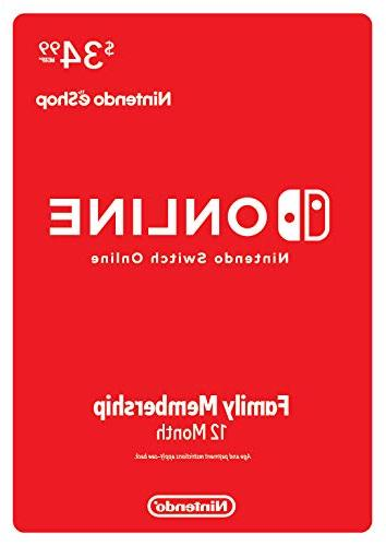 switch online family membership 12 month switch