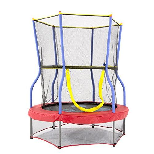 trampolines round zoo adventure bouncer