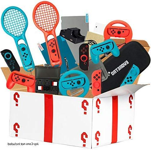 ultimate accessories bundle for nintendo switch 21
