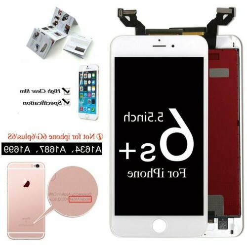 White For iPhone 6S Plus Digitizer Assembly Replacement LCD