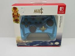 Legend of Zelda Limited Edition Blue WIRED Controller for Ni
