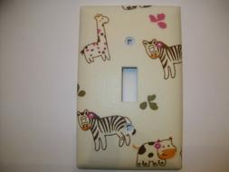 Light Switch Cover Outlet Plates Wall Decor Made with Cocalo