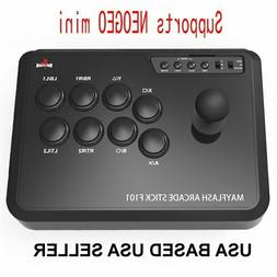 MAYFLASH Arcade Stick F101 for Nintendo Switch/PC/PS3/Androi