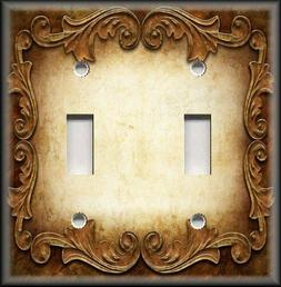 Metal Light Switch Plate Cover - Victorian Gothic Decor Orna