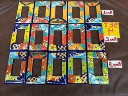 MEXICAN TALAVERA OUTLET PLUGS LIGHT SWITCHES COVER PLATE HAN