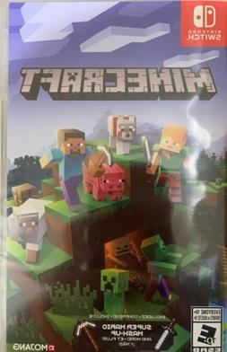 Minecraft Nintendo Switch Game Brand New Includes Super Mari