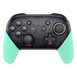 Mint Green Handle Grips Shell Replacement Kit for Nintendo S