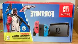 NEW SEALED Nintendo Switch Console Fortnite Double Helix Bun