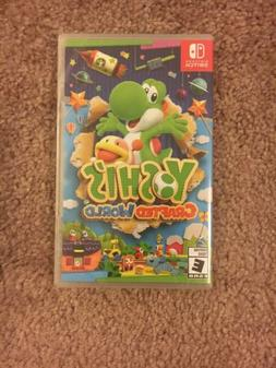 *New Sealed* Yoshi's Crafted World  Free Shipping!