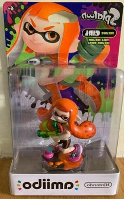 NEW Splatoon Inkling Girl AMIIBO Nintendo Wii U, 3DS & Switc