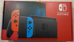 NEW Nintendo Switch 32GB Console with Neon Red and Blue Joy-