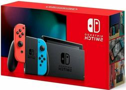 NEW Nintendo Switch Console 32GB Memory with Neon Blue and N