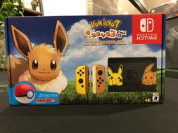 NEW Nintendo Switch Pikachu & Eevee Edition with Pokemon: Le
