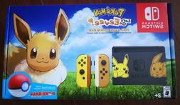 new switch pikachu and eevee edition