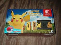New Nintendo Switch Pikachu Edition Bundle Pokemon: Let's Go
