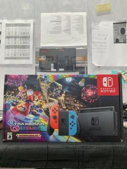 NEW Nintendo Switch w/ Mario Kart 8 Deluxe Console | Brand N
