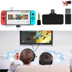 USB-C Bluetooth Audio Transmitter Adapter for Nintendo Switc