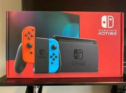 Nintendo Switch 32GB Gray Console with Neon Red and Neon Blu