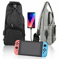 Nintendo Switch Backpack Crossbody Travel Bag For Console Jo