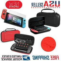 Nintendo Switch Carrying Case Hard Shell Portable Pouch Trav