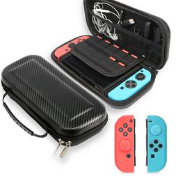 Nintendo Switch Carrying Case Hard Shell Pouch Travel Bag wi