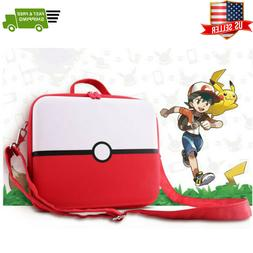 Nintendo Switch Pokemon Deluxe Carrying Case Travel Bag Stor