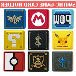 For Nintendo Switch Game Card Case Holder Storage Box Carry