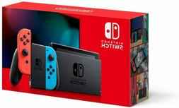 BRAND NEW - Nintendo Switch 32GB Console with Neon Red and N