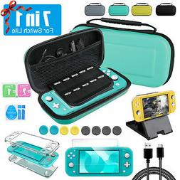 For Nintendo Switch Lite 7in1 Accessories Set Multi Storage