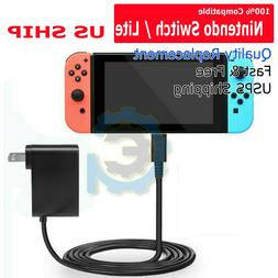For Nintendo Switch / Lite Charger Chargering Cord AC Adapte