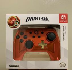 Nintendo Switch Metroid / Chrome Series Wired Controller