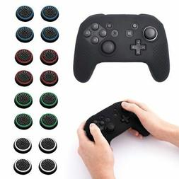 For Nintendo Switch Pro Black Silicone Controller Grip Case