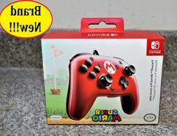 Nintendo Switch - Red and Black FaceOff Wired Pro Controller