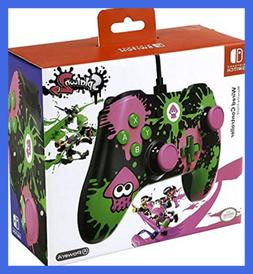 Nintendo Switch Splatoon 2 Wired Video Game Controller FREE