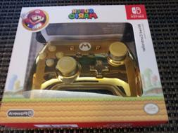 Nintendo Switch Super Mario Metallic Gold Wired Controller B