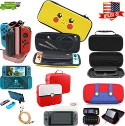 Nintendo Switch Travel Carry Case Pokemon Pikachu Carrying B