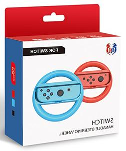 GH Switch Steering Wheel for Mario Kart 8 Deluxe, Switch Rac