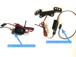 On/Off Switch RC Futaba Traxxas Style for Lights, Car, Boat,