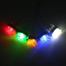 One Piece Design 28mm LED 5V Illuminated Buttons Switch For