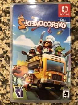 Overcooked 2. Nintendo Switch. Used. Complete!