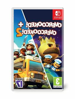 Overcooked! Special Edition + Overcooked! 2 - Nintendo Switc