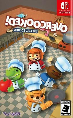 Overcooked! Special Edition  Brand New Factory Sealed