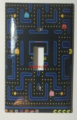 Pac-Man Pacman Games Light Switch Duplex Outlet wall Cover P